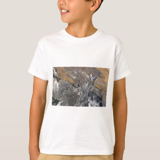 CRACKED SALT LAKE PHOTOGRAPHY modern art T-Shirt