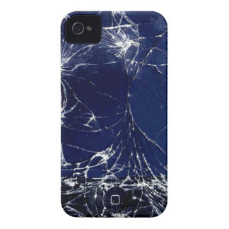 Cracked screen iPhone 4 cover
