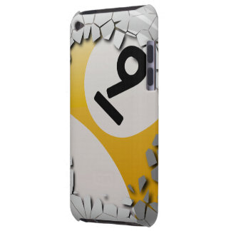 Cracked Shell Break Out Number 9 Billiards Ball iPod Case-Mate Case