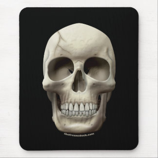 Cracked Skull Mouse Pad