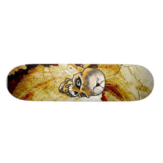 Cracked Skull Skateboard