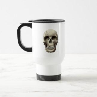 Cracked Skull Travel Mug