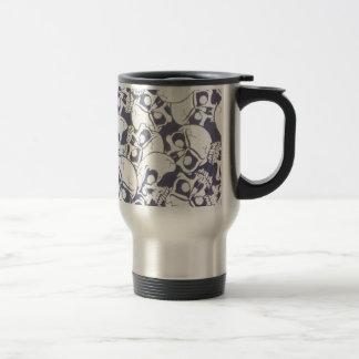 cracked skulls travel mug