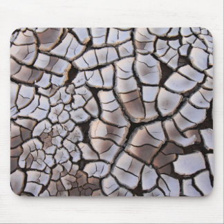 Cracked Soil Texture Mouse Pad