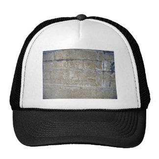Cracked Stone Wall Texture Trucker Hats