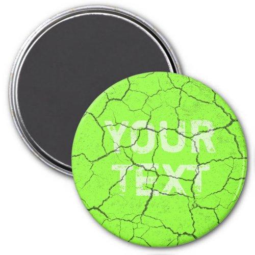 Cracked Tennis Ball Green   Kitchen  Magnet