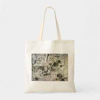 Cracked Timber Budget Tote Bag