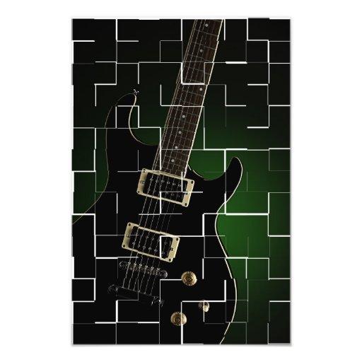 Cracked Up Guitar Photo
