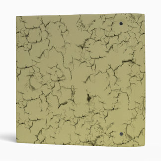 Cracked Wall 3 Ring Binder