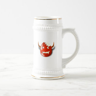 Cracked Wicked Easter egg Beer Stein