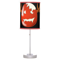Cracked Wicked Easter egg Table Lamp
