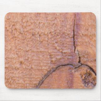 Cracked Wood Mousepad
