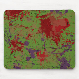 Cracked Zombie Skin A Mouse Pad