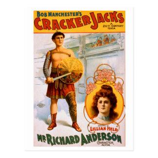 Cracker Jacks Postcard