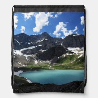Cracker Lake Drawstring Backpacks