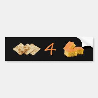 Crackers 4 Cornbread Pictogram Bumper Stickers