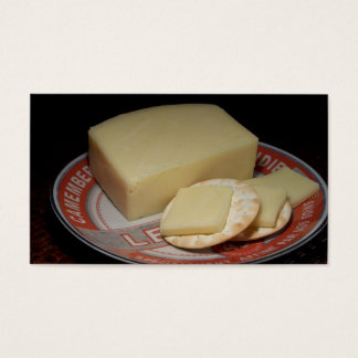 Crackers and Cheese Business Card