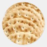 Crackers Classic Round Sticker