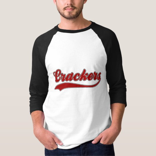 Crackers Faux Baseball Jersey T-Shirt