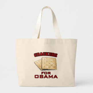 Crackers for Obama Canvas Bags