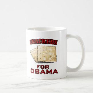 Crackers for Obama Classic White Coffee Mug
