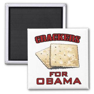 Crackers for Obama Refrigerator Magnet