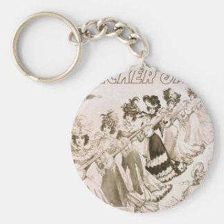 Crackers Jacks, 'The Musical Students' Vintage The Keychain