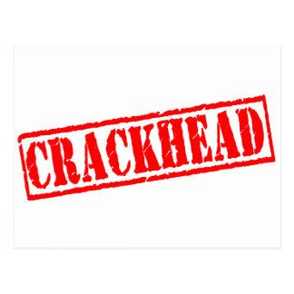 Crackhead Stamp Postcard