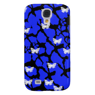 Crackle Butterfly Samsung Galaxy S4 Cover