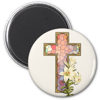 Crackle Pattern Collection -  01 2 Inch Round Magnet
