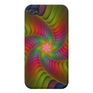 Crackle Swirl Cover For iPhone 4