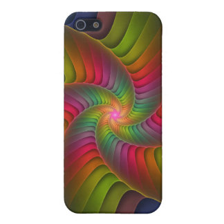 Crackle Swirl iPhone 5 Covers