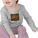 Crackle Tile - Lady in Red Tees