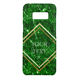Crackled Glass Birthstone Design - May Emerald Case-Mate Samsung Galaxy S8 Case