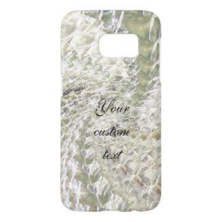 Crackled Glass Swirl Design - Diamond Samsung Galaxy S7 Case