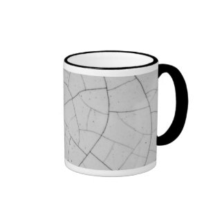Crackled Taza A Dos Colores