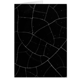 Crackled texture card