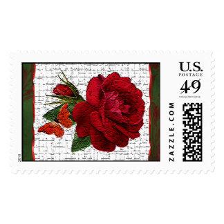 Cracklin' Rose Postage Stamps