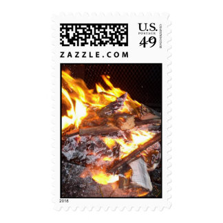 Crackling Fire Stamps