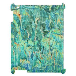 Cracks in Blue iPad Case