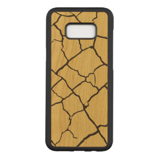 Cracks  Preto Carved Samsung Galaxy S8+ Case