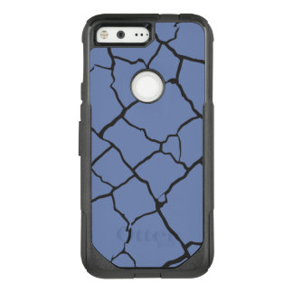 Cracks  Preto OtterBox Commuter Google Pixel Case