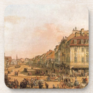 Cracow Suburb seen from the Cracow Gate Beverage Coaster