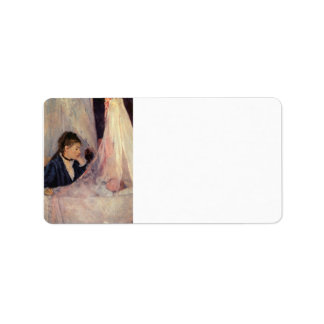 Cradle by Berthe Morisot Personalized Address Labels