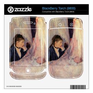 Cradle by Berthe Morisot BlackBerry Torch Skins