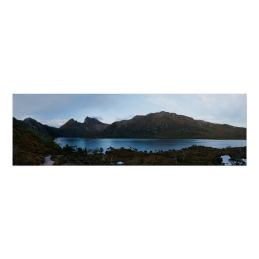 Cradle Mountain and Dove Lake Poster