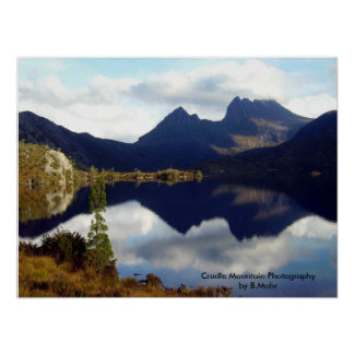 Cradle Mountain Reflections Poster