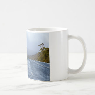 CRADLE MOUNTAIN SNOW TASMANIA AUSTRALIA COFFEE MUG