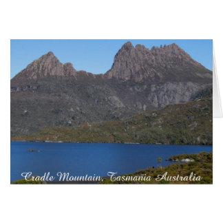 Cradle Mountain, Tasmania Australia-Greeting Card