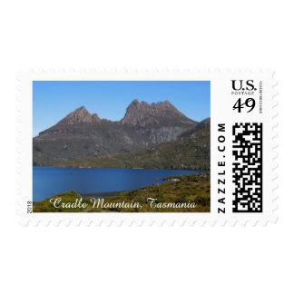 Cradle Mountain, Tasmania Australia - Postcard Stamp